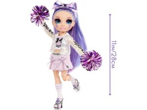 Rainbow High Cheer Violet Willow