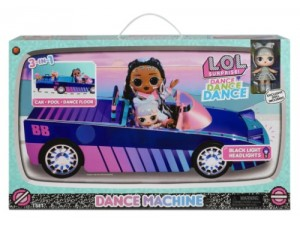 LOL Surprise Dance Dance Dance carro