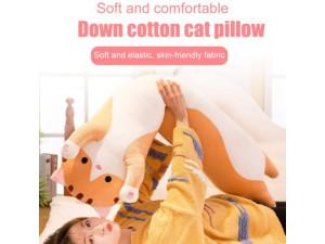 Almohada peluche de gato 50 cm