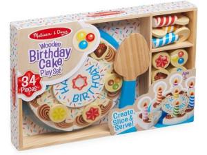 Torta cumpleaños de madera Melissa and Doug